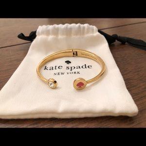 Kate Spade NY hinged open bracelet
